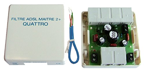 DECELECT - FORGOS Filtre Quadrupleur ADSL maître