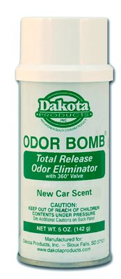 Dakota Odor Bomb New Car Scent - 3 Pack