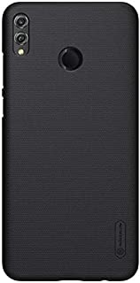 Nillkin Huawei Honor 8X Case Frosted Hard Shield Phone Cover - Black
