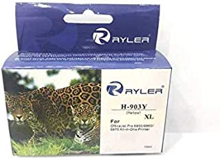 Ryler compatible Ink for HP H-903XL Yellow