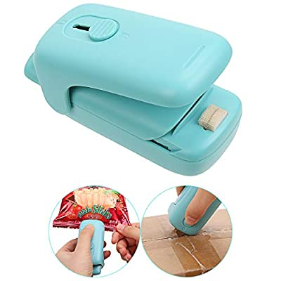 Mini Bag Sealer, 2 in 1 Heat Sealer and Cutter,...
