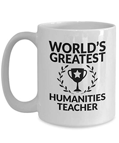 Taza Humanities Profesor Hombres Personalizado Regalo de Cumpleaños Taza de Té de Porcelana Deportes Mujeres Taza de Café de Navidad Durable 330Ml Leche Beber Regalos Divertidos