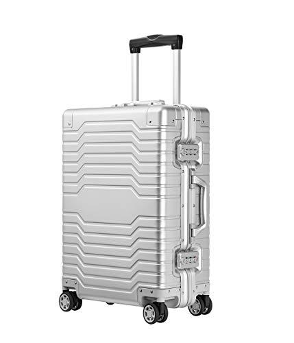YUEMAI Aluminum Carry On Suitcase