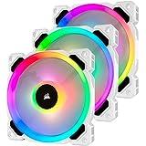 Corsair LL120 RGB -White- Triple Pack PCケースファン 12cm FN1280 CO-9050092-WW