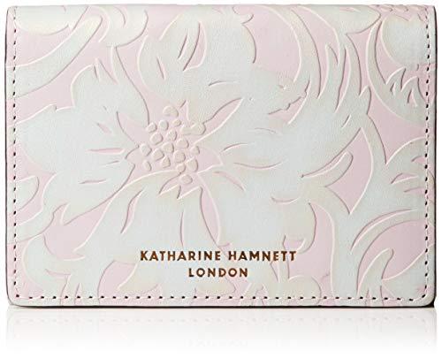 [キャサリンハムネット ロンドン] 財布 名刺入れ ナデシコ KHP431 ラベンダー