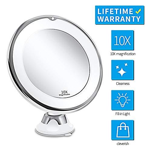 Espejo Led Espejo De Maquillaje Con Luz Led Espejo De Vanidad Lupa 7x