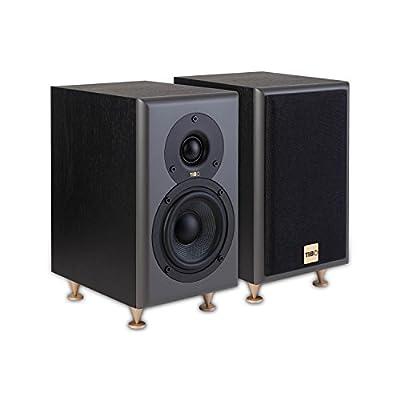 TIBO Legacy 1+ | Passive Hi-Fi Bookshelf Speakers | 100W | Black 23015 by TIBO