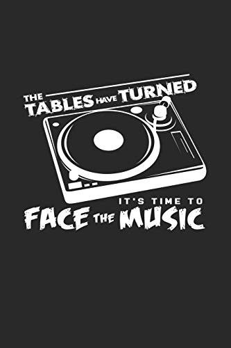 The tables have turned music: 6x9 Vinyl Record | lined | ruled paper | notebook | notes