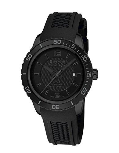 Wenger–Bracciale unisex orologio 01.0851.126Roadster Black Night al...