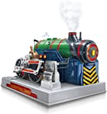 IF YOUR KID LOVES TO BUILD STUFF AND IS CURIOUS ABOUT HOW THINGS WORK then they will love every minute spent building this kid-friendly engine model kit with you. Spark their curiosity and passion for engineering hobbies as they learn how a steam eng...