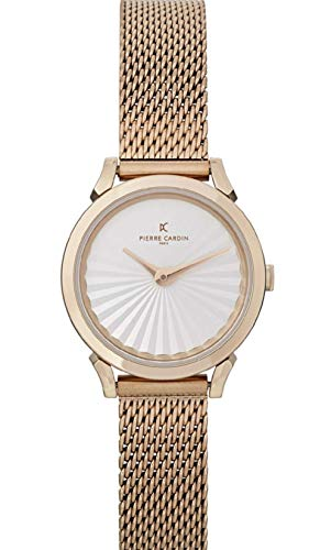 Pierre Cardin Pigalle Plissee CPI.2502 - Reloj de pulsera para mujer