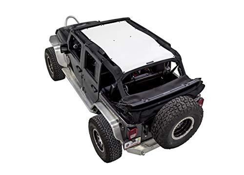 SPIDERWEBSHADE Jeep Wrangler Mesh Shade Top