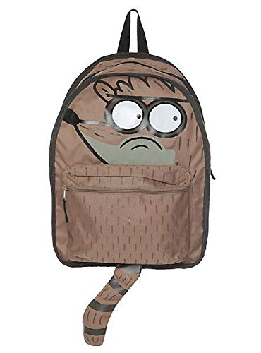 Regular Show Rigby with 3d Hood Backpack