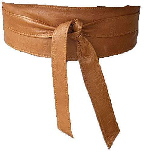 Cinturón Fajín mujer en piel autentica
