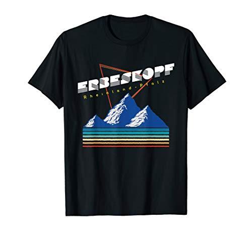 Erbeskopf Rheinland Pfalz - Deutschland Retro 80s Ski T-Shirt