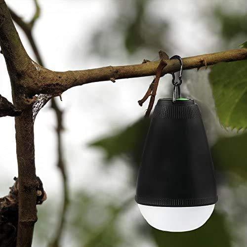 Dimmbare wiederaufladbare Camping-LED-Laterne, Zeltbeleuchtung für den Außenbereich, wasserdicht mit Fernbedienung, tragbar, für Kinderzimmer, Wandern, Klettern, Rucksackreisen, Notfälle