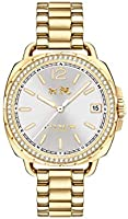 Coach Tatum Crystal Women's Silver Dial Stainless Steel Watch - 14502589