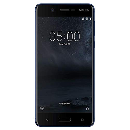 Nokia 5 16GB Android (GSM only, No CDMA) Factory Unlocked 4G/LTE Smartphone (Tempered Blue) - International Version