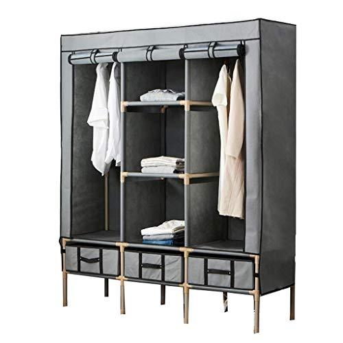 XMDDX Draagbare kledingkast, organizer voor kasten, kasten, kledingkasten, organizer, poten