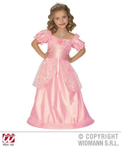 Widmann 4386L - Costume Pour Enfant, Robe de Princesse, Rose, Tailles Assorties 3-5 ans - version italienne