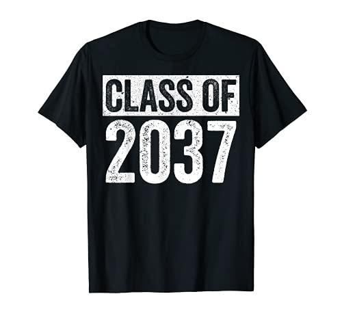 Class Of 2037 Camiseta Senior 2037 Graduación Regalo Camisa Camiseta