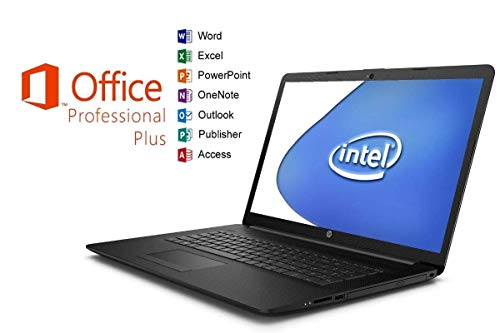 Notebook Pavilion 17-by - 16GB RAM - 1000GB SSD - CD/DVD Brenner - Windows 10 Pro + MS Office 2016 Pro - 44cm (17.3 Zoll) Matt