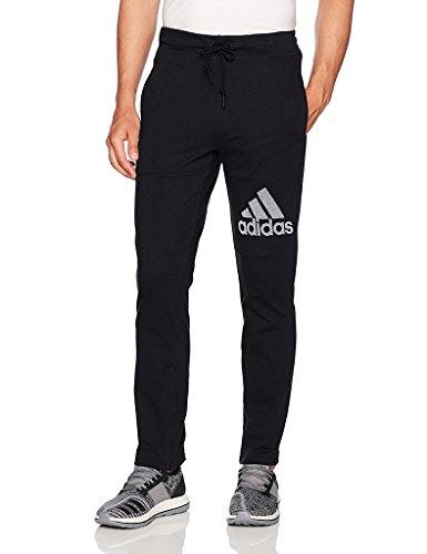 adidas Men's Athletics Sport Id Jersey Pants, Black, Medium