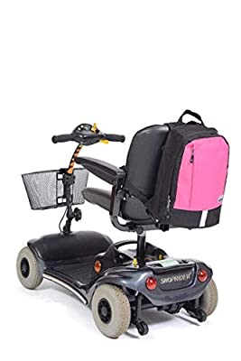 Simplantex Mobility Bag Black/Pink Small