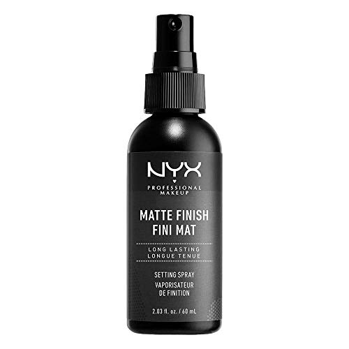 NYX Professional Makeup Setting Spray, Langanhaltende Textur, Fixierendes Spray, Leichte, vegane Formel, Matte Finish, 60 ml