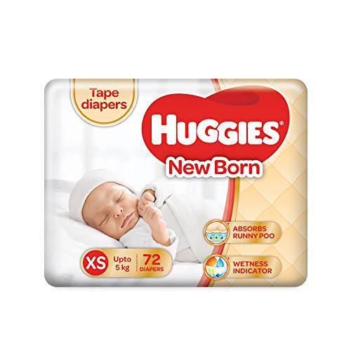 Huggies New Born Taped Diapers Product Image