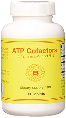 Optimox Corporation, ATP Cofactors Vitamin B-2 und B-3, 90 Tabletten