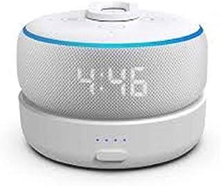Base de bateria GGMM D3 para Echo Dot 3ª geração, acessórios para alto-falantes portáteis inteligentes com 7 horas de repr...