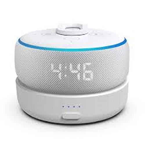 Bateria Externa D3 para Amazon Alexa echo Dot 3a geração - Branca