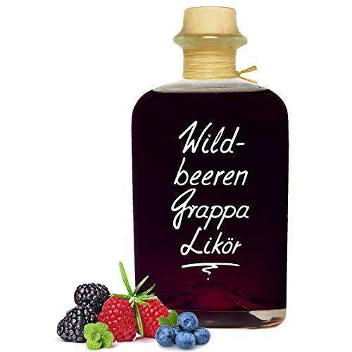 Wildbeeren Grappa Likör 0,7L beeindruckend aromatisch & opulent 20% Vol.