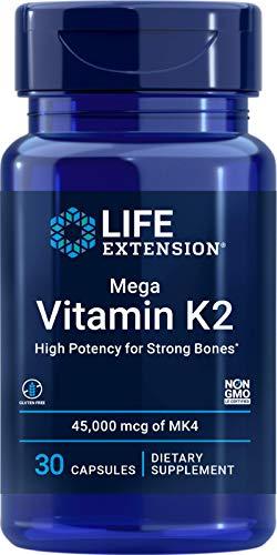 Life Extension Mega Vitamin K2, 30 Stück