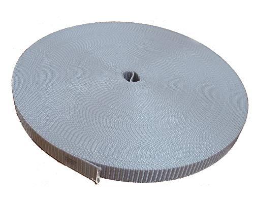 Rolladengurt 18 mm Breite grau 50 meter Rolle original ROLATEC