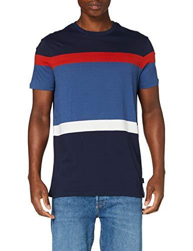 Springfield 3Ip Raya Indiepop-C/13 Camiseta, Azul (Medium_Blue 13), XS (Tamaño del Fabricante: XS) para Hombre