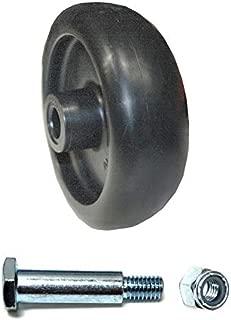 Deck Wheel Plus Shoulder Bolt Plus Locknut, Replaces John Deere M89339, Toro Lawnboy 701756, Snapper 26122 7026122 7026122SM, Yazoo 2302-126, Gilson 245946