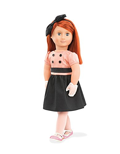 Our Generation Doll by Battat- Joy 18' Non-Posable Retro Fashion Doll- for Ages 3 & Up