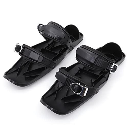 YYZS Tacos de Tracción, Tacos de Hielo, Raquetas de Nieve de Aluminio, Calzado de Esquí, Cubiertas Antideslizantes para Zapatos, Pinzas de Hielo de Invierno, para Senderismo