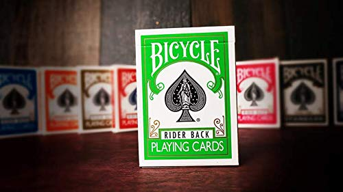 Cards Bicycle Green Back USPCC