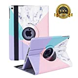 New iPad 7th Generation 10.2 Inch 2019 Case - 360 Degree Rotating St