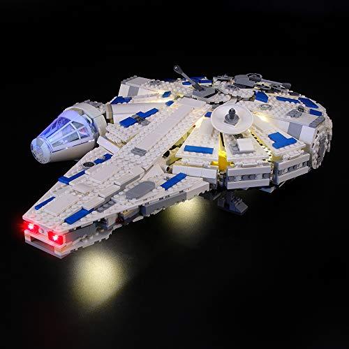 LIGHTAILING Licht-Set Für (Star Wars Kessel Run Millennium Falcon) Modell - LED Licht-Set Kompatibel Mit Lego 75212(Modell Nicht Enthalten)
