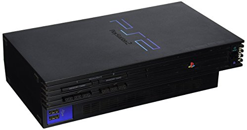 Playstation 2 Console - Black (Renewed)