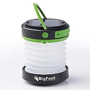 Bigfoot Outdoor Products Solar Camping Lantern