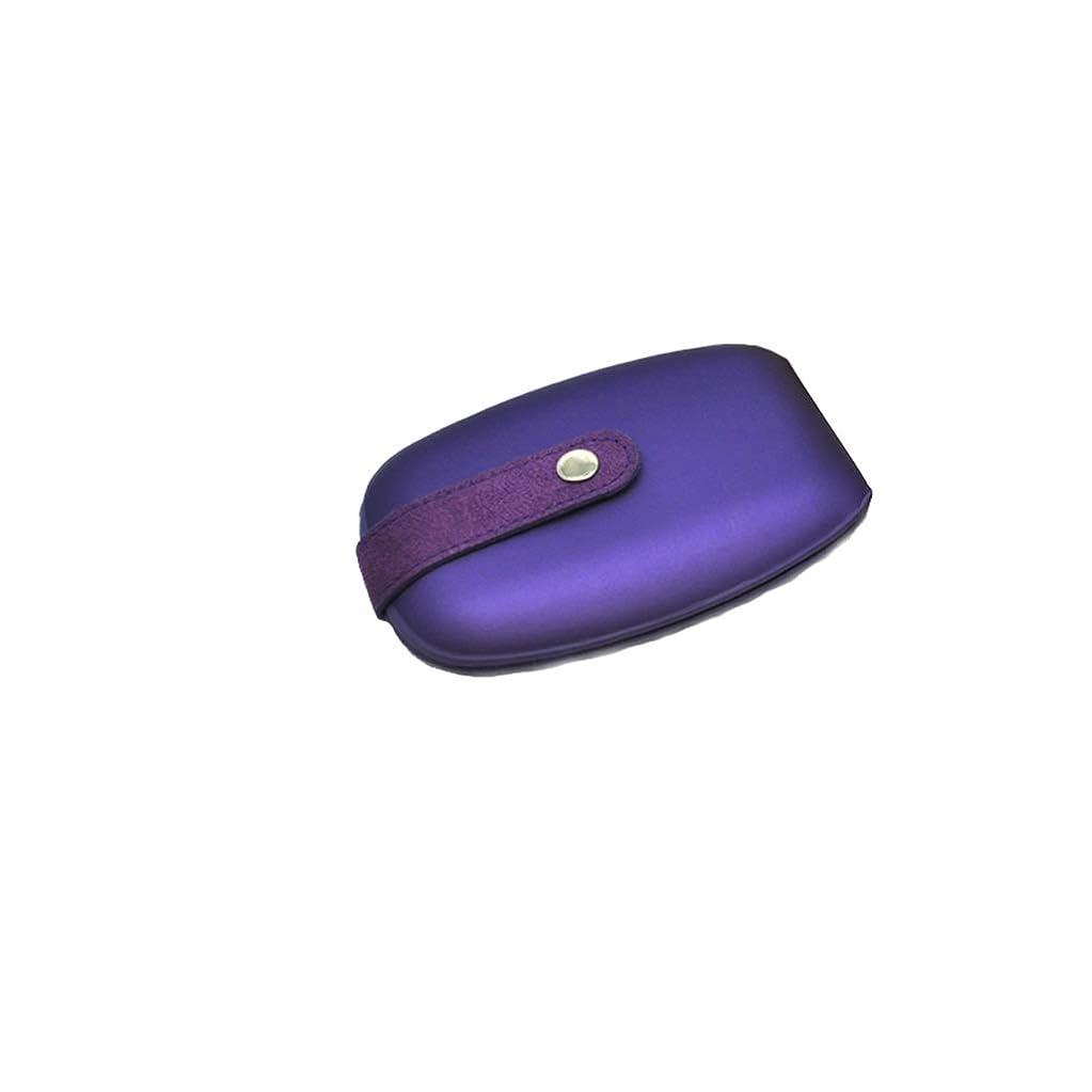 確認する葉巻感覚ネイルクリッパーツールポータブルセット美容スーツケースネイルケアセット女性用ステンレススチールハンド&フットケアネイルクリッパー (Color : B)