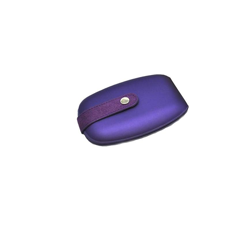 ネイルクリッパーツールポータブルセット美容スーツケースネイルケアセット女性用ステンレススチールハンド&フットケアネイルクリッパー (Color : B)