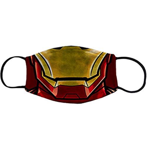 Cubreboca tapaboca Reutilizable Parodia de Iron Hombre de Acero - Niño