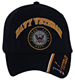 United States Navy Veteran Adjustable Hat w/Emblem Embroidery
