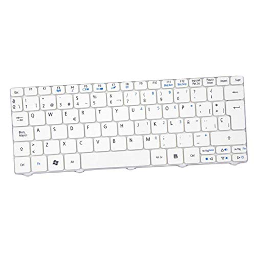 MagiDeal Teclado para Portátil para Acer Aspire One AOD257 521 532 AO533...